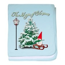 The Magic of Christmas baby blanket