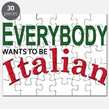 Everybody wants to be Italian Puzzle