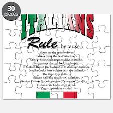 Italians Rules Puzzle