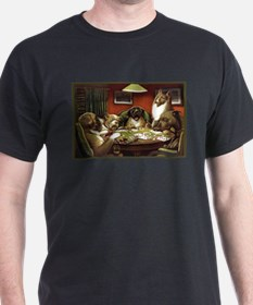 Waterloo Dog Poker T-Shirt