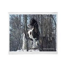 Gypsy Stallion Throw Blanket