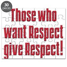 Demand respect Puzzle