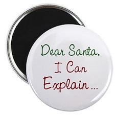 "Dear Santa 2.25"" Magnet (10 pack)"
