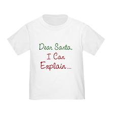 Dear Santa T
