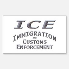 Immigration Customs Enforcement - Decal