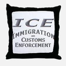 Immigration Customs Enforcement -  Throw Pillow