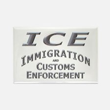 Immigration Customs Enforcement - Rectangle Magne