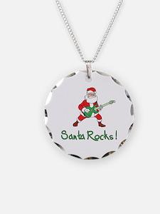 Santa Rocks! Necklace