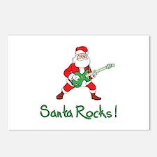 Santa Rocks! Postcards (Package of 8)