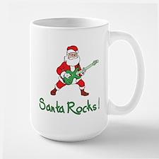 Santa Rocks! Mug