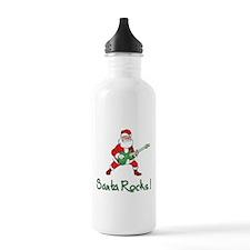 Santa Rocks! Water Bottle