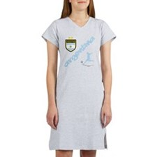 Argentina world cup soccer Women's Nightshirt