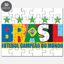 Brazilian World cup soccer Puzzle