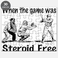 Steroid free baseball Puzzle