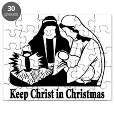 Keep Christ in Christmas Puzzle