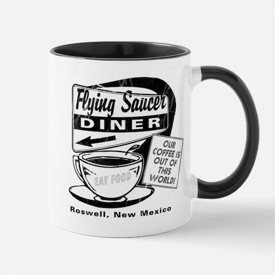 Flying Saucer Diner Mug