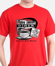 Flying Saucer Diner T-Shirt