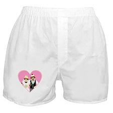 Sock Monkey Wedding Boxer Shorts
