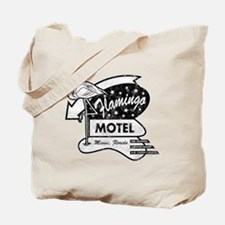 Flamingo Motel Tote Bag