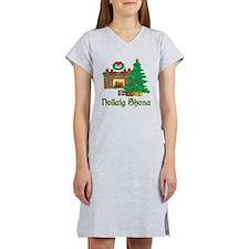 Irish Christmas Women's Nightshirt