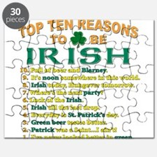 Top reasons to be Irish Puzzle