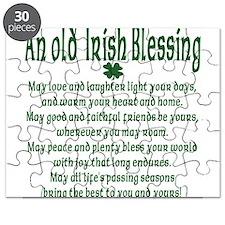 Old irish Blessing Puzzle