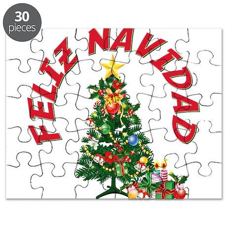 Feliz Navidad Puzzle