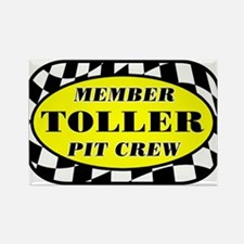 Toller PIT CREW Rectangle Magnet