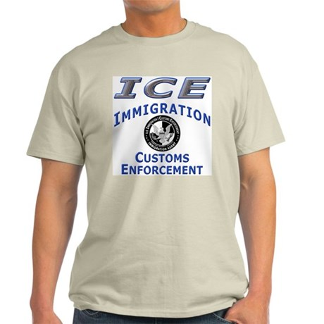 US Immigration & Customs: Ash Grey T-Shirt