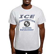 US Immigration & Customs: Ash Grey T-Shirt