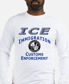 US Immigration & Customs: Long Sleeve T-Shirt