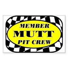Mutt PIT CREW Decal