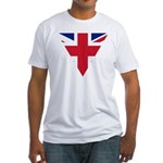 Great Britain Union Flag Fitted T-Shirt