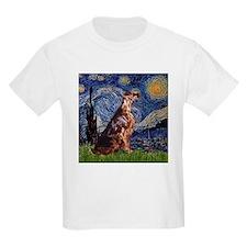 Starry Night Irish Setter T-Shirt