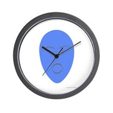 blue euphoria Wall Clock