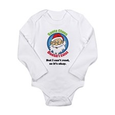 Santa Claus doesn't exist Long Sleeve Infant Bodys