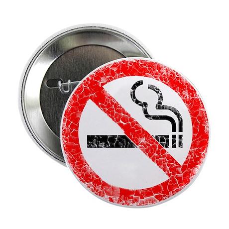 "Distressed, No Smoking 2.25"" Button"