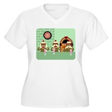 Sock Monkey Ice Cream T-Shirt