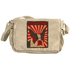 Boston Terrier Revolution Messenger Bag