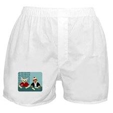 Chihuahua & Sock Monkey Boxer Shorts
