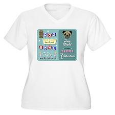 Pug Bowling T-Shirt