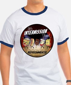 Intermission time T
