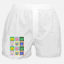 Westie Pop Art Boxer Shorts