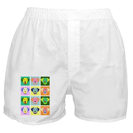Labrador Retriever Pop Art Boxer Shorts