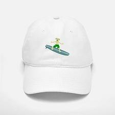 Yellow Lab Surfer Baseball Baseball Cap