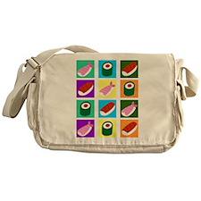 Sushi Pop Art Messenger Bag