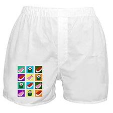 Sushi Pop Art Boxer Shorts