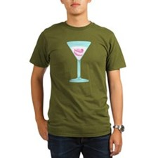 False Teeth Martini T-Shirt