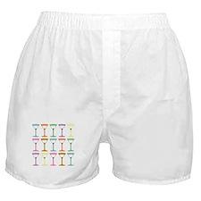 Martini Pop Art Boxer Shorts