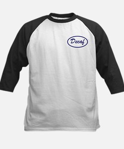 Decaf Name Patch Kids Baseball Jersey